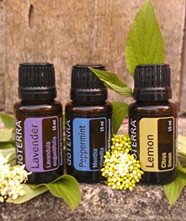 32 pomysły na zastosowanie olejków Lavender, Lemon & Peppermint!