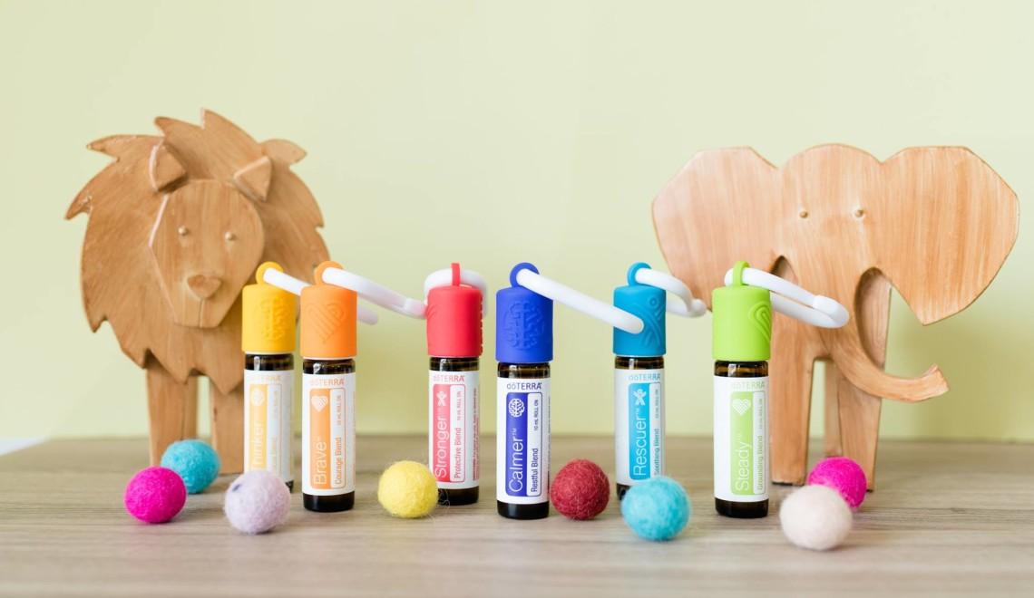 Olejki eteryczne dla dzieci